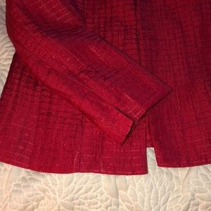 Chico's Jackets & Coats - Chico's Red Blazer